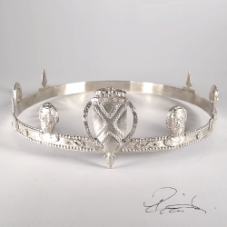 Solid Silver Crown
